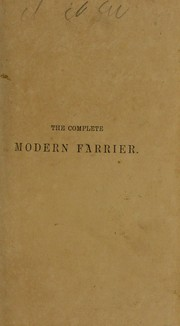 Cover of: The modern farrier | G. Lowson
