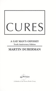 Cures : a gay man's odyssey
