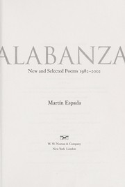 Cover of: Alabanza