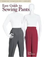 Cover of: Easy guide to sewing pants