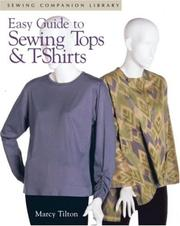 Cover of: Easy guide to sewing tops & t-shirts