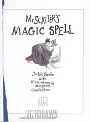 Cover of: Mr. Scatter's magic spell