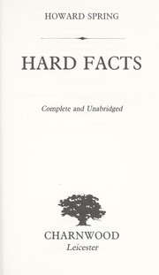 Cover of: Hard Facts
