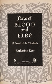Cover of: Days of Blood and Fire