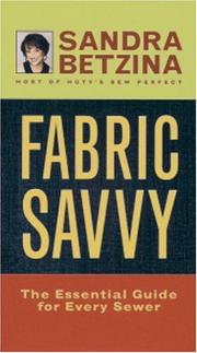 Cover of: Fabric Savvy