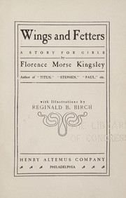Cover of: Wings and fetters