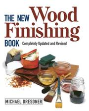 Cover of: The new wood finishing book