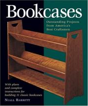 Cover of: Bookcases