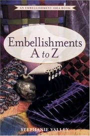 Cover of: Embellishments A to Z