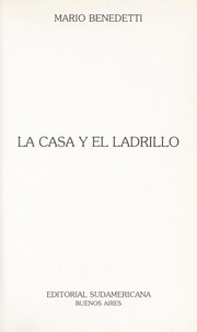Cover of: La Casa y El Ladrillo