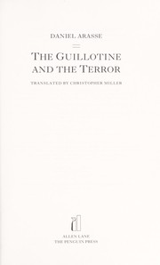 Cover of: The guillotine and the terror