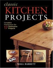 Cover of: Classic Kitchen Projects