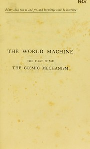 Cover of: The world machine