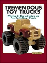 Cover of: Tremendous Toy Trucks