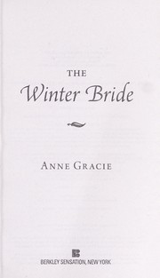 Cover of: The winter bride