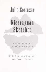 Cover of: Nicaraguan sketches