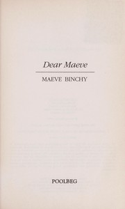 Cover of: Dear Maeve | Maeve Binchy