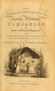 Cover of: The new female instructor; or, Young woman