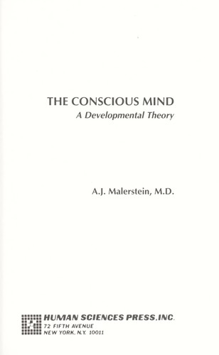 The conscious mind : a developmental theory (edition) | Open