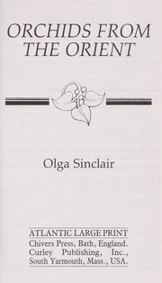 Cover of: Orchids from the Orient | Olga Sinclair