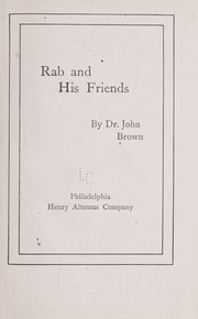 Cover of: Rab and his friends