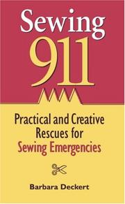 Cover of: Sewing 911