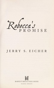 Cover of: Rebecca's promise