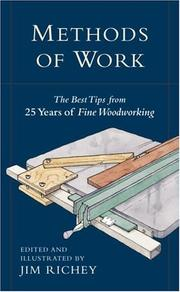 Cover of: Methods of Work