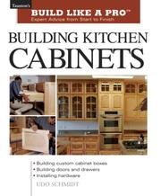 Cover of: Building Kitchen Cabinets