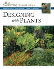 Cover of: Designing with Plants