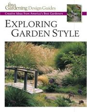 Cover of: Exploring Garden Style