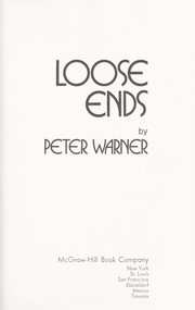 Cover of: Loose ends