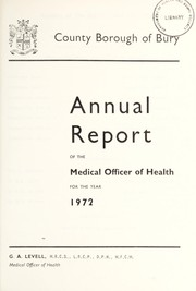 Cover of: [Report 1972]