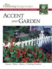 Cover of: Accent Your Garden