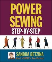 Cover of: Power Sewing Step-by-Step