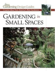 Cover of: Gardening in Small Spaces
