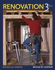 Cover of: Renovation | Michael W. Litchfield