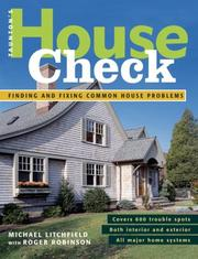 Cover of: Taunton's House Check