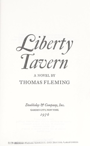 Liberty Tavern : a novel by