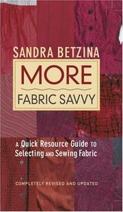 Cover of: More Fabric Savvy