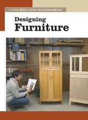 Cover of: Designing Furniture (New Best of Fine Woodworking)