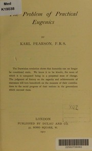 Cover of: The problem of practical eugenics