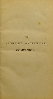 Cover of: The naturalist's and traveller's companion