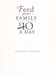 Cover of: Feed your family on $10 a day |