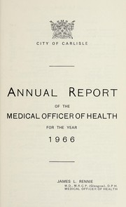 Cover of: [Report 1966]