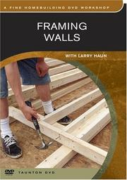 Cover of: Framing Walls
