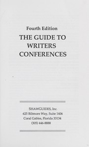 Cover of: The Guide to Writers Conferences |