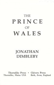 Cover of: The Prince of Wales | Jonathan Dimbleby
