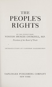 Cover of: The people's rights