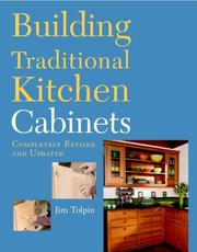 Cover of: Building traditional kitchen cabinets